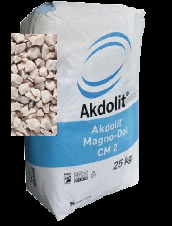 Akdolit Magno Dol CM1<br> Neutralisationsmaterial <br>Körnung  0,5 - 2,5 mm
