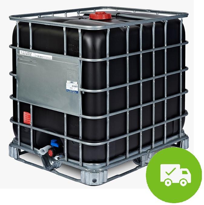 Demineralisiertes VE Wasser<br>Im neuen UV-Beständigen IBC<br>Inkl. Versandkosten