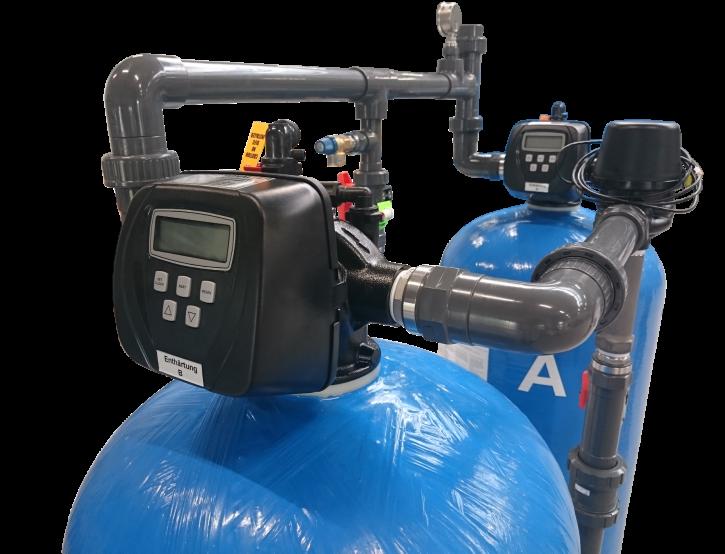 Doppel Aktivkohlefilter 1 m³/h
