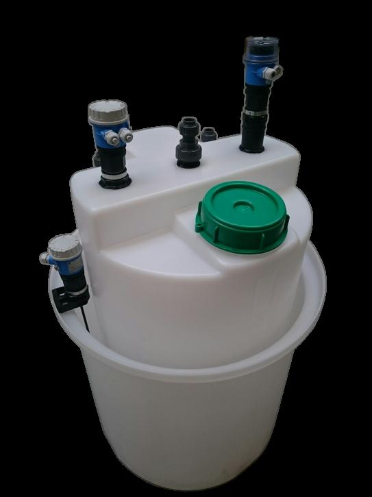 Dosierbehälter 200 Liter mit Messtechnik