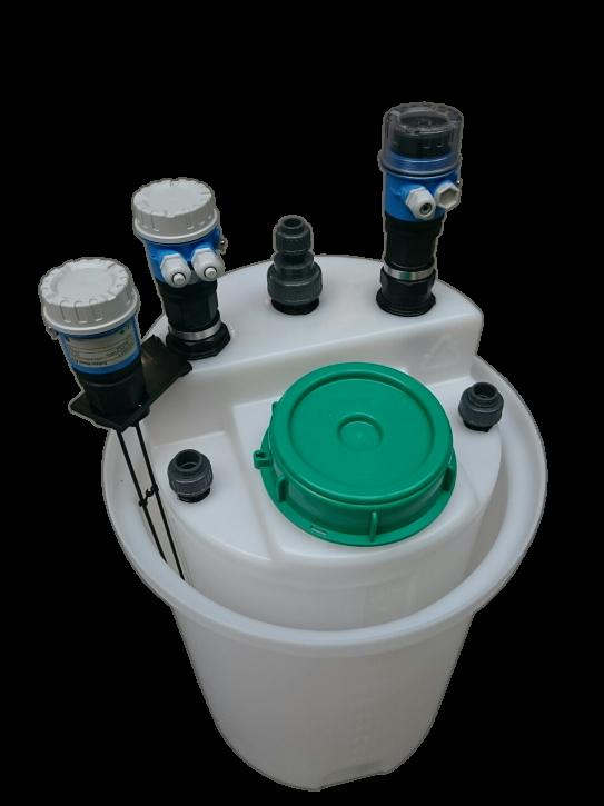 Dosierbehälter 60 Liter mit Messtechnik