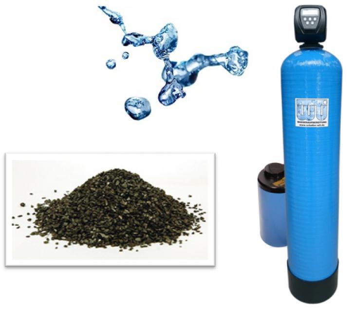 Greensand Brunnenwasseraufbereitung<br>1.000 l/h