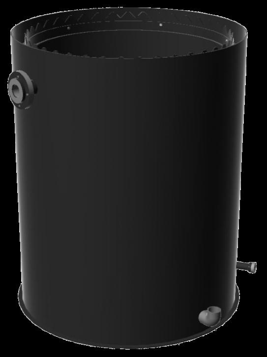 Harzrückspülbehälter 300 Liter
