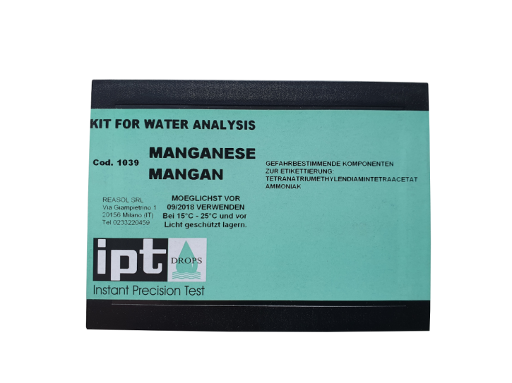 Manganmessbesteck bis 1,5 mg/l
