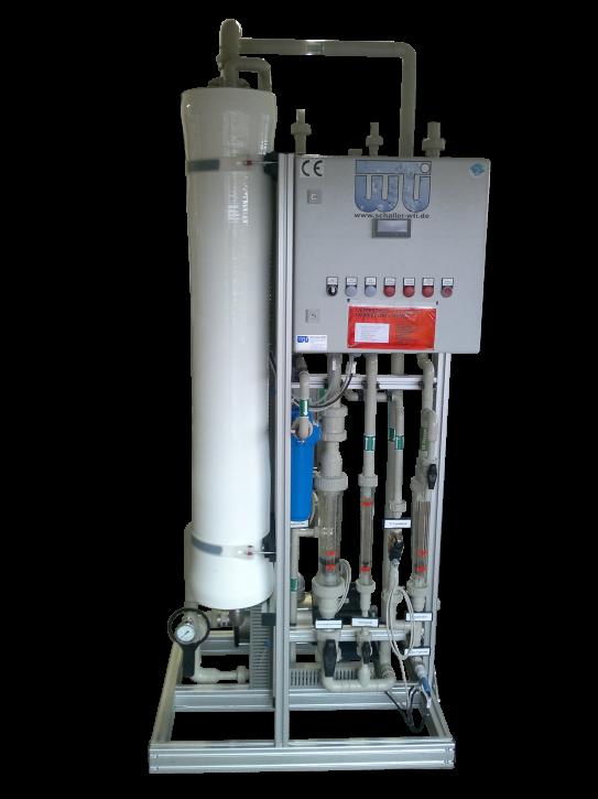 Nanofiltrationsanlage mit Antiscalantdosierung 1 m³/h