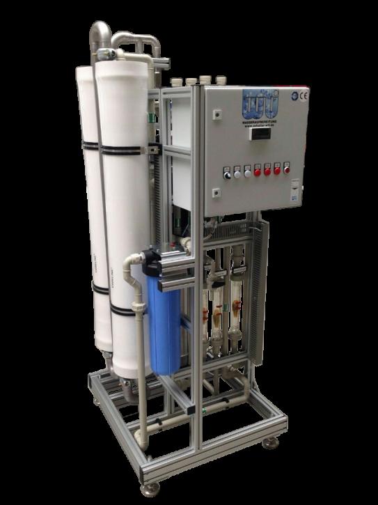 Nanofiltrationsanlage mit Antiscalantdosierung 2 m³/h