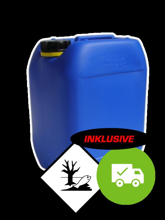 125 kg - 25% Natriumhydroxid NaOH<br>5x 25kg Kanister
