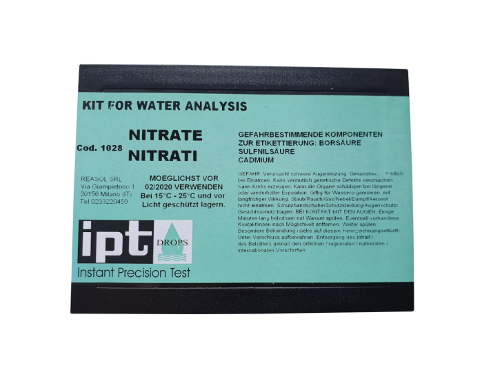 Nitrat Messbesteck 10-140 mg/l