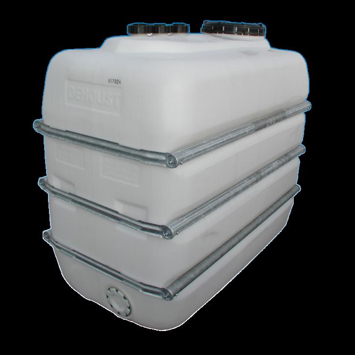 PE-HD Lagerbehälter 2.500 Liter Inkl. Messtechnik