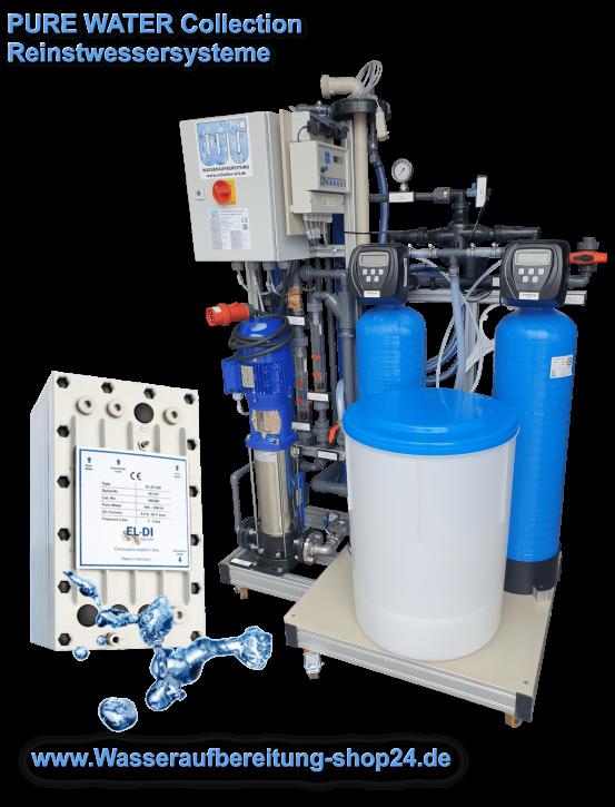 Reinstwasseranlage mit EDI <br><0,2 µS/cm bei 225 l/h
