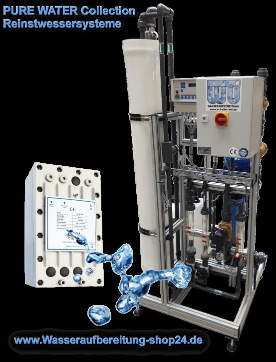 Reinstwasseranlage mit EDI <br><0,2 µS/cm bei 900 l/h