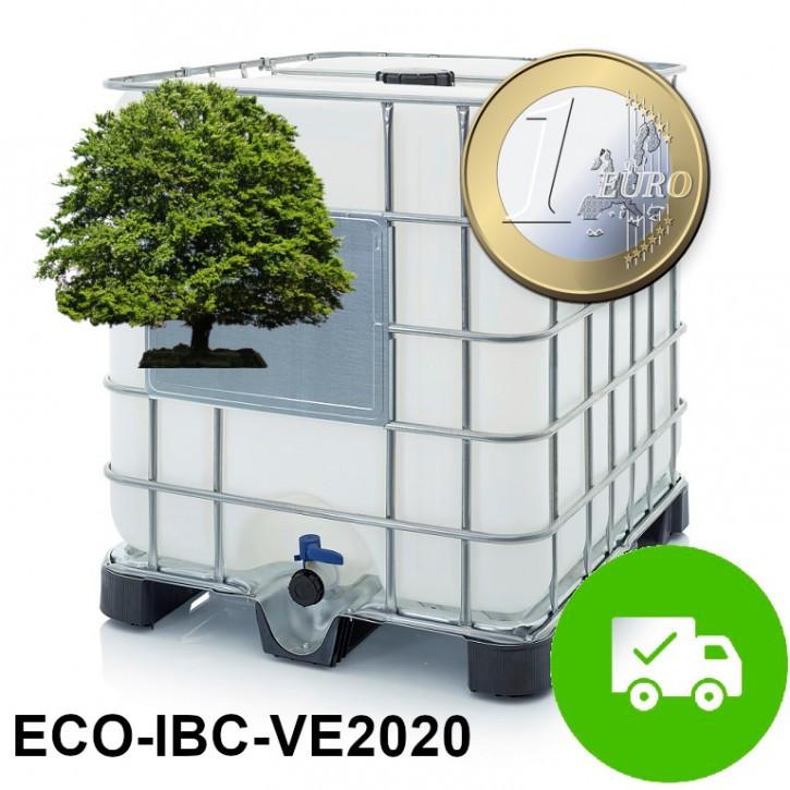 Demineralisiertes VE Wasser<br>Nachhaltig selbst herstellen<br>ECO-IBC-2020 Komplettset