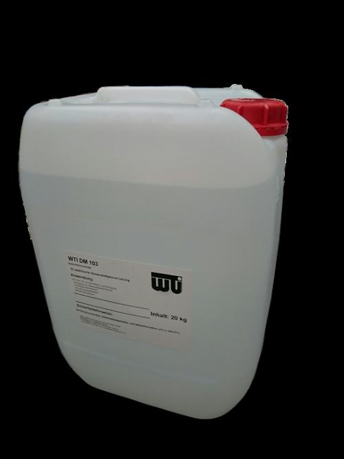 Desinfektionsmittel Wasserstoffperoxid<br>20 kg<br>für Ionenaustauscheranlagen und Oberflächen