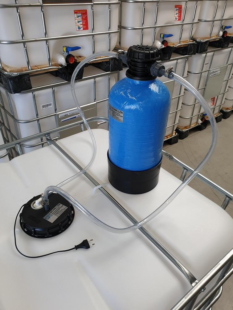 Bevorzugt Demineralisiertes Wasser im IBC selbst herstellen | Onlineshop QM17