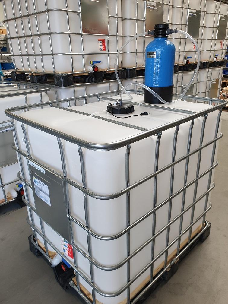 Relativ Demineralisiertes Wasser im IBC selbst herstellen | Onlineshop KI25