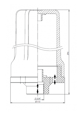 1µm Sterilfilter für Lagertank max. 5 m³/h Entnahmeleistung