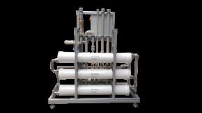 Nanofiltrationsanlage mit Antiscalantdosierung 3 m³/h