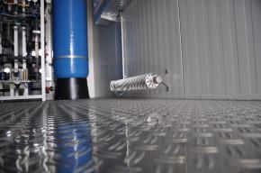 Seecontainer für Anlagenbau